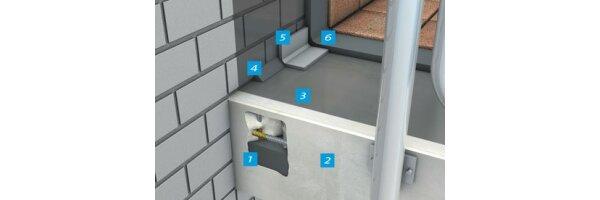 Betoninstandsetzung bei Balkon- und Terrassenbauteilen
