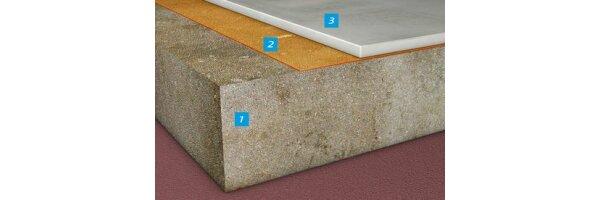 Dampfsperren auf nicht abgedichteten Betonböden