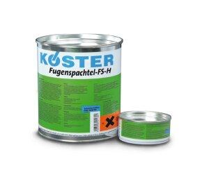 KÖSTER Fugenspachtel FS-H 4 kg grau