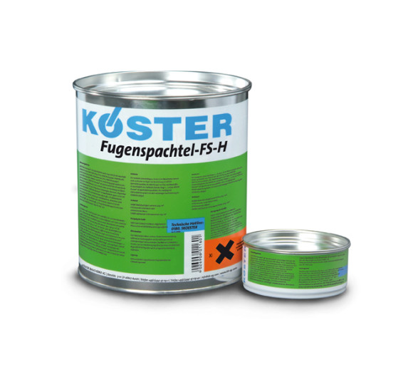 KÖSTER Fugenspachtel FS-H 4 kg schwarz