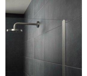 AQUA-GLAS Edelstahl, gebürstet, 12mm, 2,5m