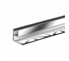 AQUA-GLAS Edelstahl, verchromt. 12mm, 2,5m