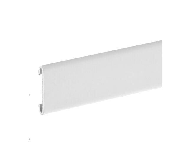 AQUA-DEKO, Edelstahl, weiß matt, beschichtet, 24mm/1,25m
