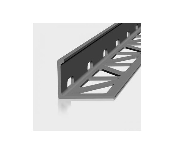 AF, Aluminium, mittelgrau beschichtet, 18,5mm/2,5m