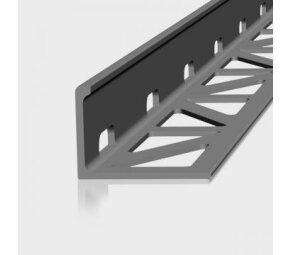 AF, Aluminium, edelstahlmetallic beschichtet, 18,5mm/2,5m